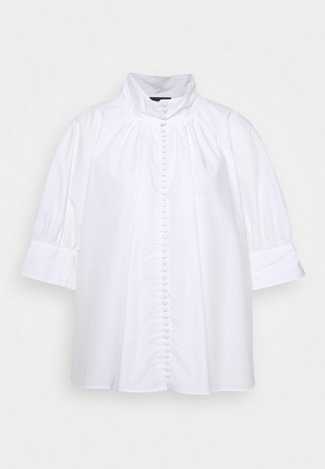 CHEMISE POPLIN - Bluse - white