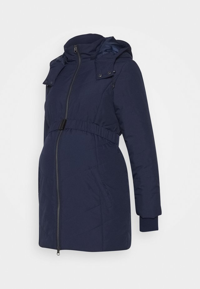 PUFFER - Cappotto invernale - navy