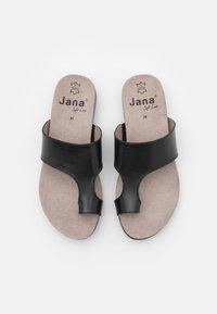 Jana - T-bar sandals - black - 5