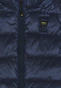 Blauer - SMANICATI IMBOTTITO OVATTA UNISEX - Waistcoat - dark sapphire - 2