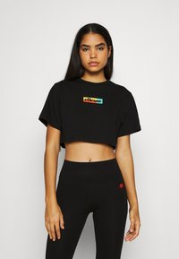 Ellesse - RIONA - Print T-shirt - black - 0