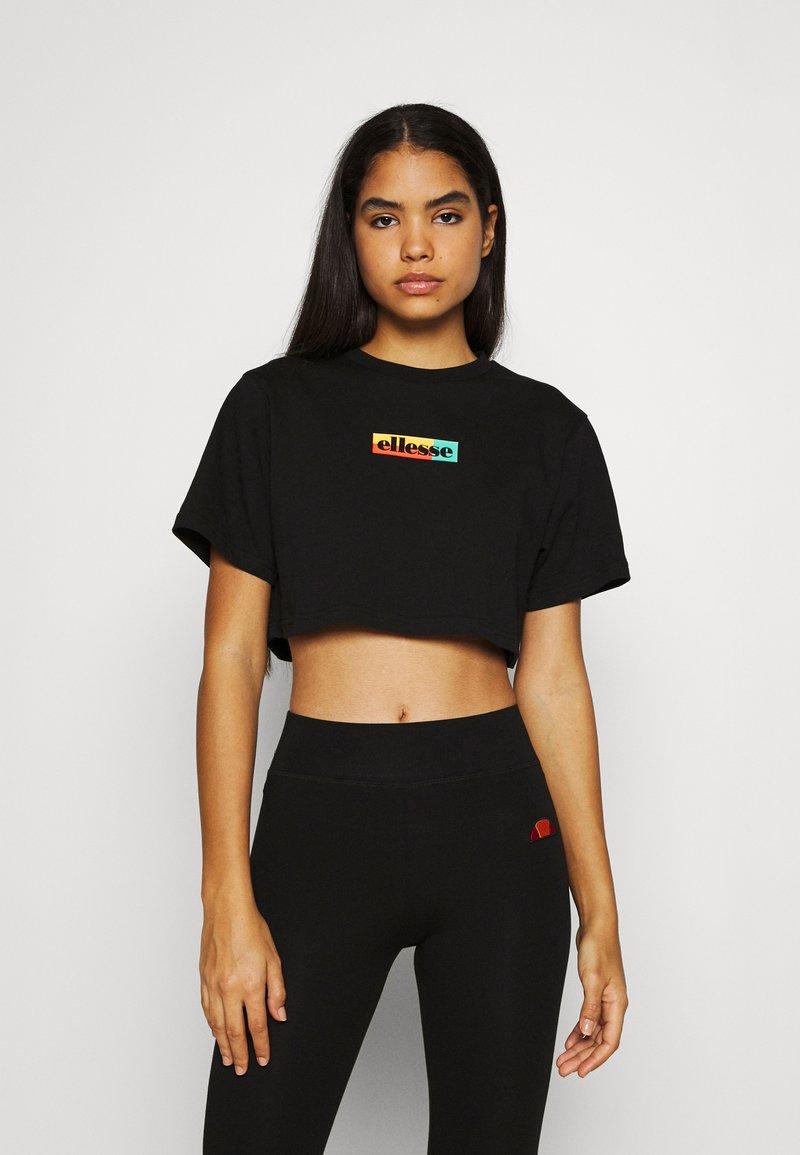 Ellesse - RIONA - Print T-shirt - black