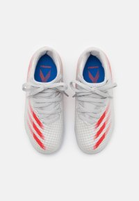 adidas Performance - X GHOSTED.3 MG UNISEX - Moulded stud football boots - halo blue/scarlet/core black - 3