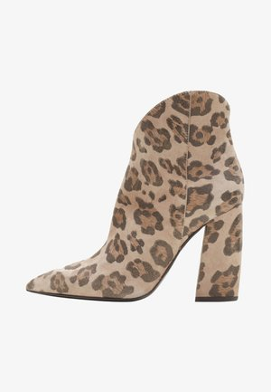 ANESSA - High heeled ankle boots - brown
