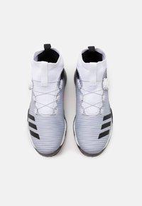 adidas Golf - CHAOS BOOST PRIMEKNIT TRAXION GOLF SHOES - Golfové boty - footwear white/core black/light flash orange - 3