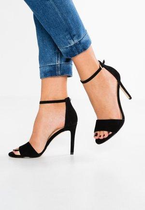 FIOLLA - Sandaler med høye hæler - black