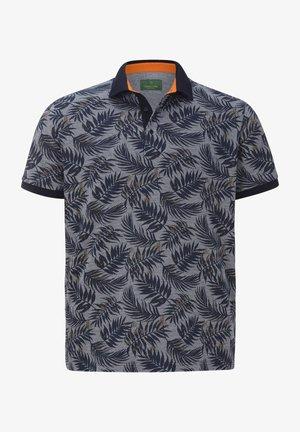 EARL ANGUS - Poloshirt - blau gemustert