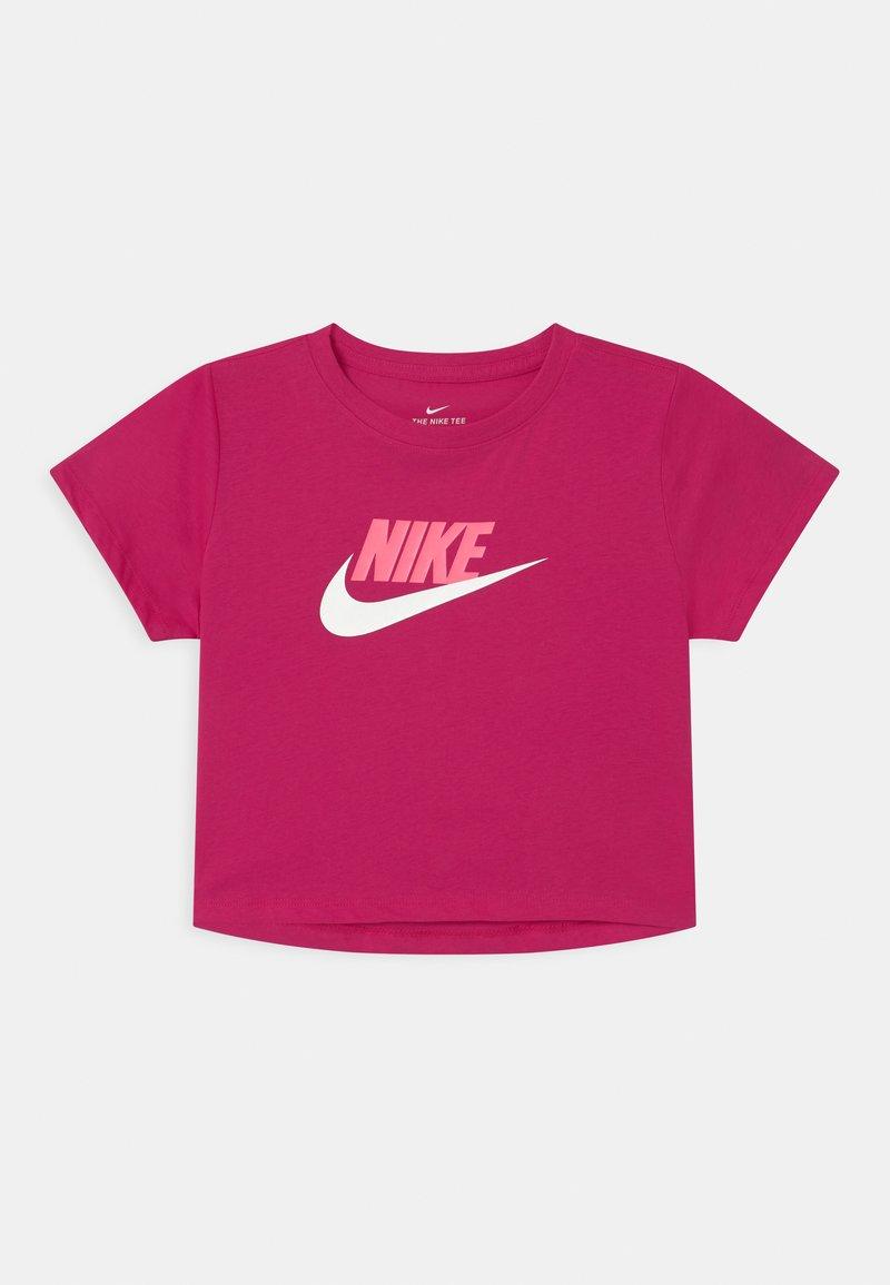 Nike Sportswear - CROP FUTURA - Camiseta estampada - fireberry