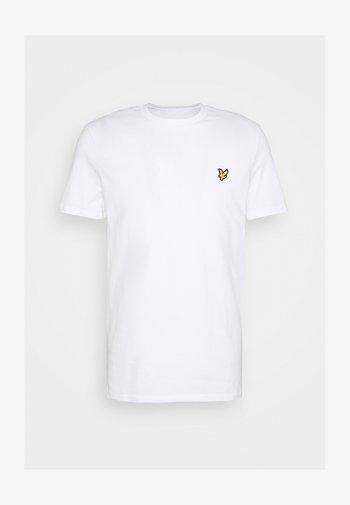 PLAIN - T-shirt - bas - white