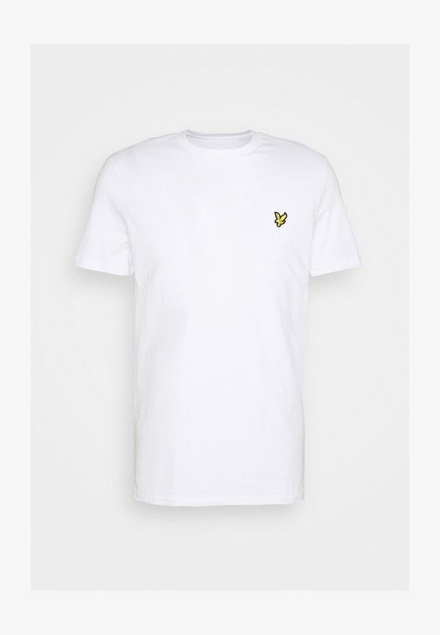 PLAIN - Basic T-shirt - white