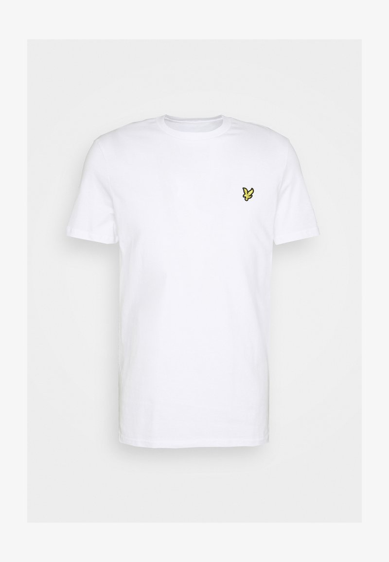 Lyle & Scott - PLAIN - T-shirt basic - white