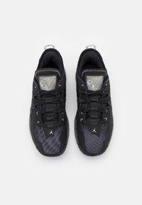 Jordan - ONE TAKE II UNISEX - Basketball shoes - black/mertallic silver/anthracite - 3