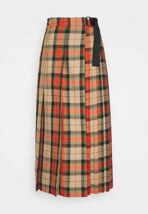 BRIC - A-line skirt - orange