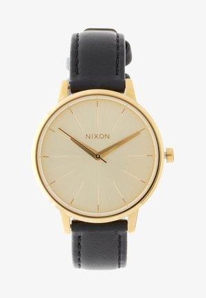 KENSINGTON - Horloge - gold/schwarz