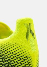 adidas Performance - X GHOSTED.3 LL TF UNISEX - Kopačky na umělý trávník - solar yellow/core black/royal blue - 5