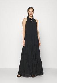 YAS - YASVELO DRESS - Maxi dress - black - 0