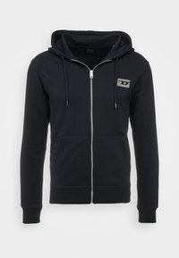 Diesel - BRANDON - Zip-up hoodie - black - 4