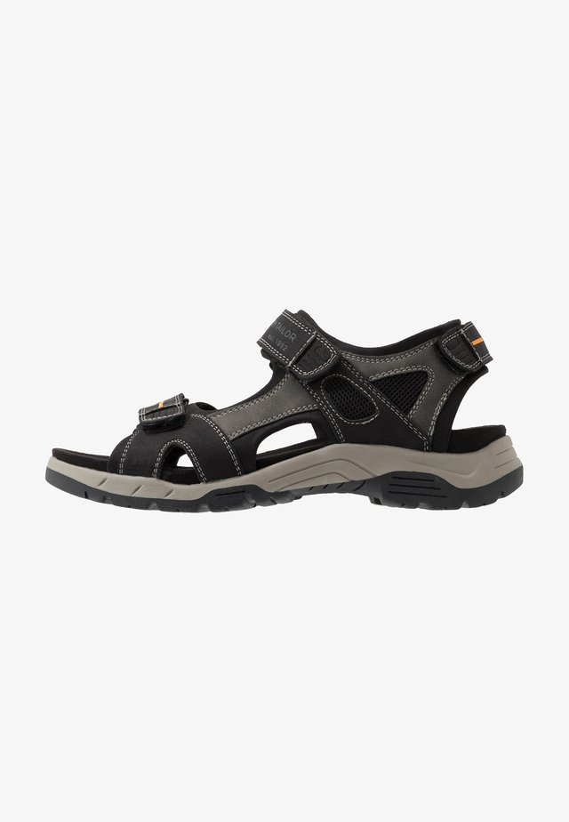 Walking sandals - black
