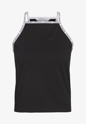 LOGO TRIM TANK - Top - black