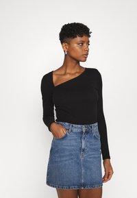 YAS - YASZEMMA - Long sleeved top - black - 0