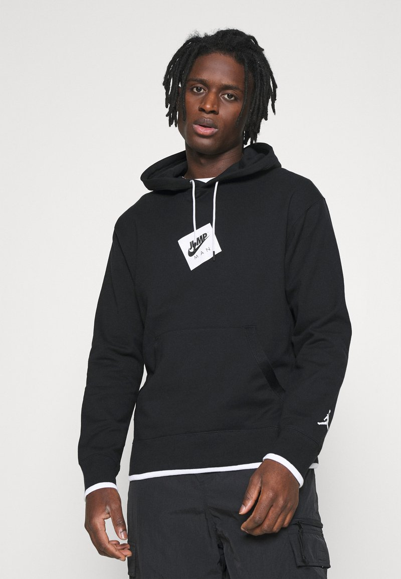 Jordan - Sweatshirt - black/white