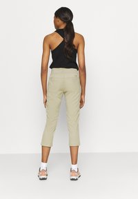 The North Face - WOMEN'S APHRODITE CAPRI - 3/4 sports trousers - twill beige - 2