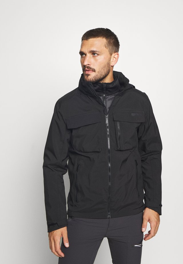 SHRIGLEY 2-IN-1 - Outdoorjacka - black