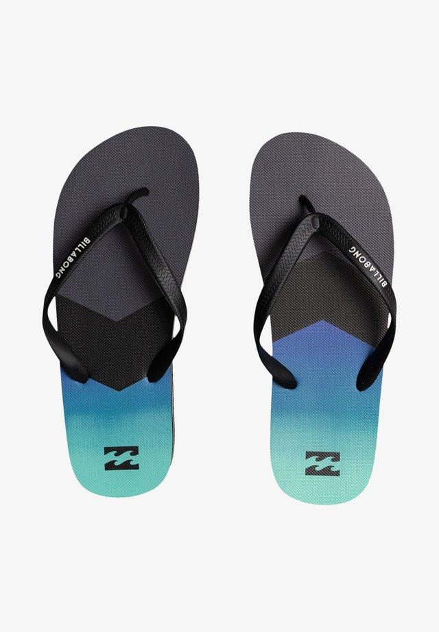 TIDES TSTREET - T-bar sandals - blue/grey