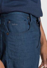 G-Star - STRAIGHT TAPERED - Straight leg jeans - antique worker denim raw denim - 4