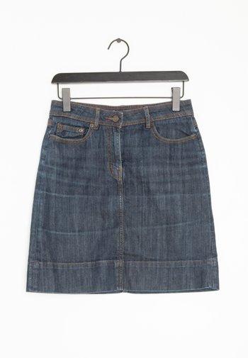 Spódnica trapezowa - blue