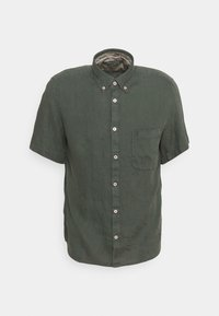 Marc O'Polo - BUTTON DOWN SHORT SLEEVE - Košile - mangrove - 5