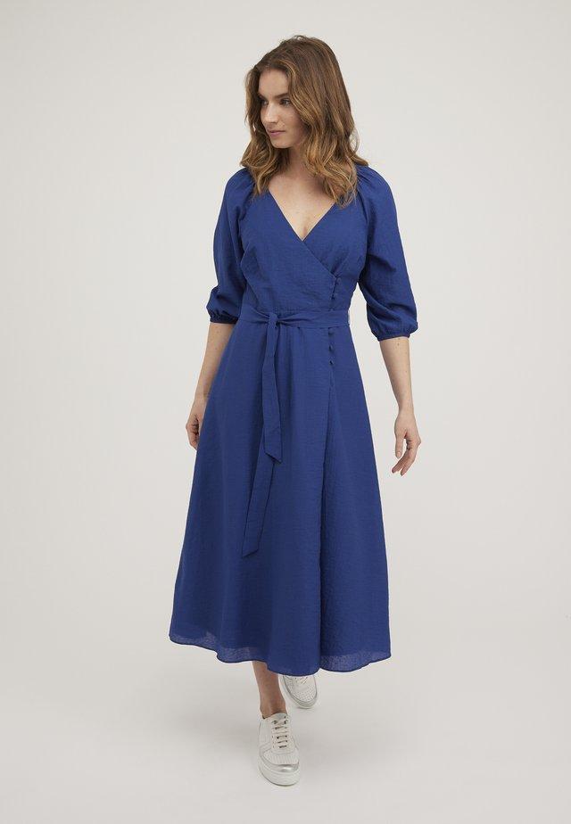 TEXTURED COBALT  - Vapaa-ajan mekko - blue