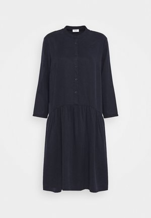DRESS SHORT SLEEVE - Skjortekjole - scandinavian blue
