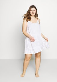 Simply Be - VALUE BEACH DRESSES  2 PACK  - Doplňky na pláž - white/black - 0