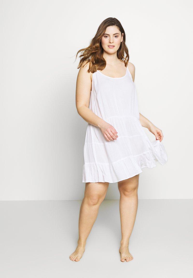 Simply Be - VALUE BEACH DRESSES  2 PACK  - Doplňky na pláž - white/black