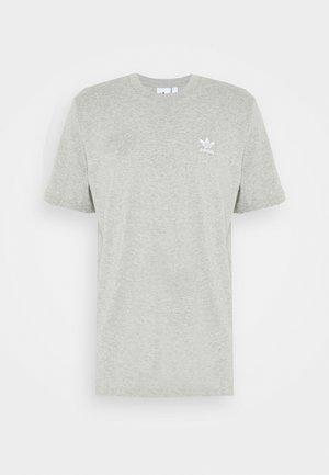 ESSENTIAL TEE - T-shirt - bas - medium grey heather