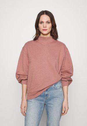 MOCK CREW - Sweatshirt - pink