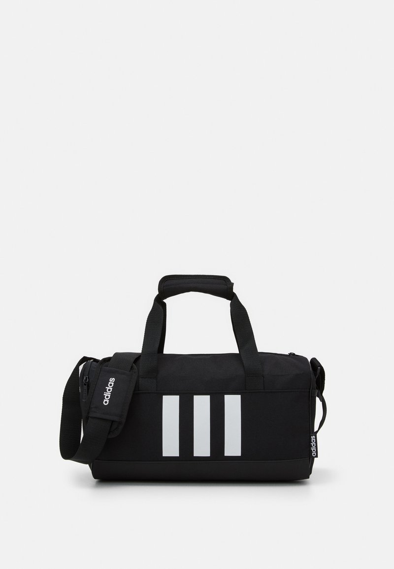 adidas Performance - ESSENTIALS 3 STRIPES SPORTS DUFFEL BAG UNISEX - Sports bag - black/black/white