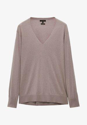 Pullover - mauve