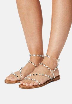 FLIGHT  - Sandals - clear