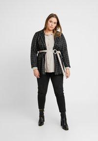 River Island Plus - Button-down blouse - mink - 1