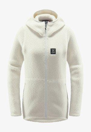 PILE HOOD  - Fleece jacket - haze