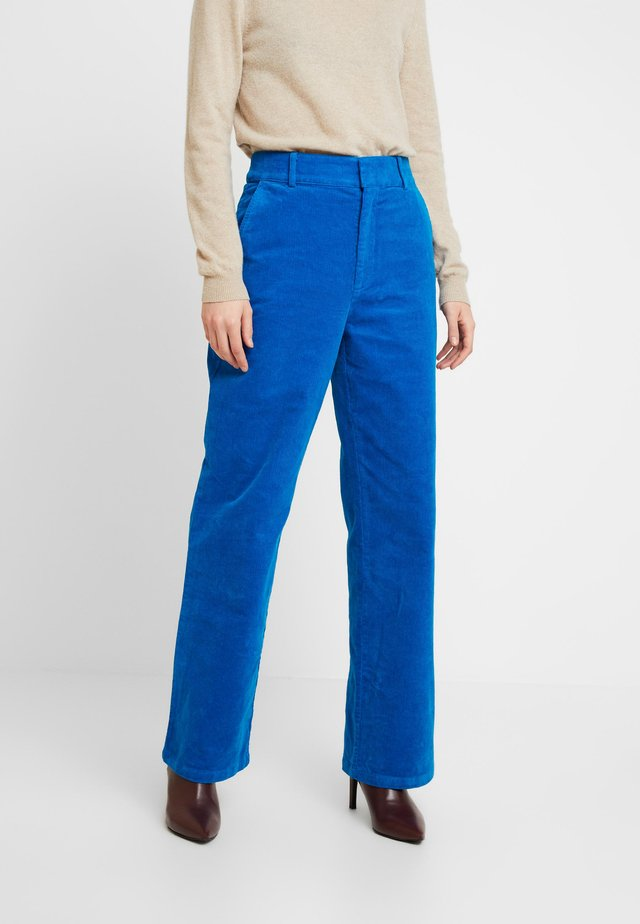 AZURITE - Trousers - vibrant turquoise