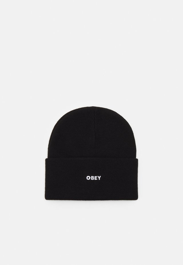 FLUID BEANIE UNISEX - Bonnet - black