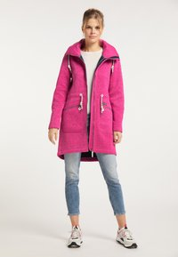 Schmuddelwedda - Krátký kabát - pink melange - 1