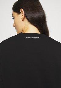 KARL LAGERFELD - IKONIK MINI CHOUPETTE - Sweatshirt - black - 3