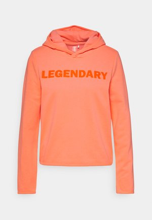 ONPFUD LIFE HOOD - Luvtröja - neon orange/dark neon orange