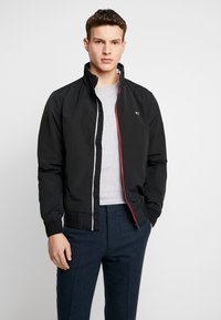 Tommy Jeans - ESSENTIAL JACKET - Giacca leggera - black - 0