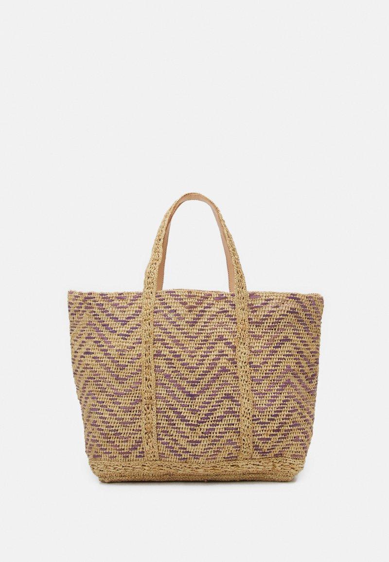 Vanessa Bruno - CABAS EXLUSIVE - Shopping bag - parme