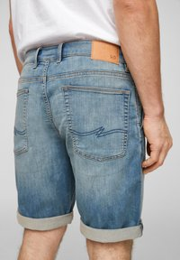 QS by s.Oliver - Denim shorts - blue - 4